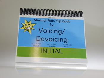 Voicing and/or Devoicing Initial: Minimal Pair Flip Book Game
