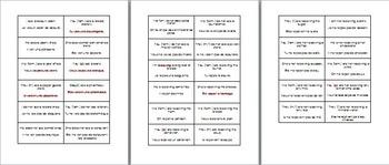 Voir & Recevoir : Question mixer speaking activity