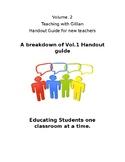 Vol.2 Teaching with Gillian Handout