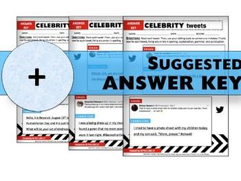 Vol. 5: Celebrity Tweets, Writing Mechanics & Conventions Practice, Print & Use