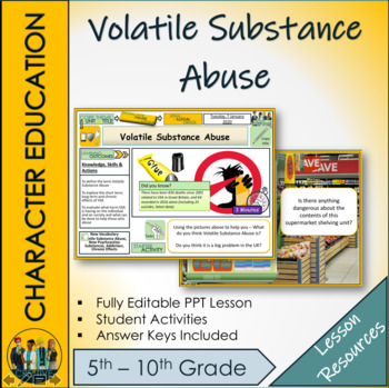 Volatile Substance Abuse - Drugs Education