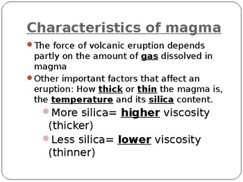Volcanic Activity Power Point