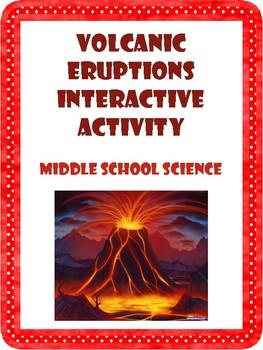 Volcanic Eruptions Interactive Activity
