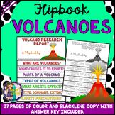 Volcanic Eruptions Research Flipbook (Volcanoes Report Flip book)