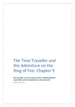 Volcanic topic comprehension: The Time Traveller Book 2 C5
