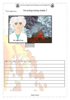 Volcanic topic comprehension: The Time Traveller book 2 C7