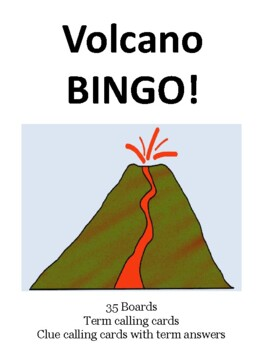 Volcano BINGO!