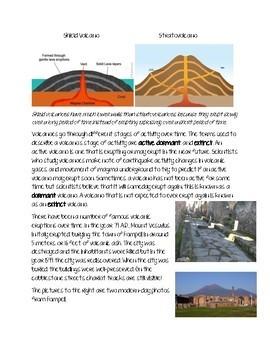 Volcano Close Reading