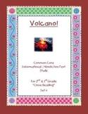 """Volcano"" Common Core Informational Nonfiction Close Read Set grade 2-3"