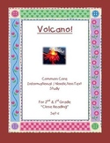 """Volcano"" Common Core Informational Nonfiction Close Read"
