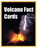 Volcano Unit  - Illustrated Fact Review Cards