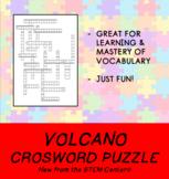 Volcano Crossword Puzzle