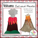 Volcano Craft | Natural Disaster Activity | Volcano Writing | Volcanic Landforms