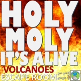 Volcano - ESCAPE ROOM: 10 Challenges, Answer Key, Resource