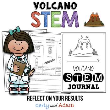 Volcano Engineering STEM Activities and Reading Passage
