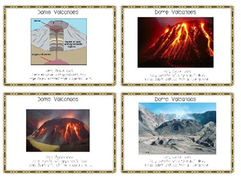 Volcano Flash Cards