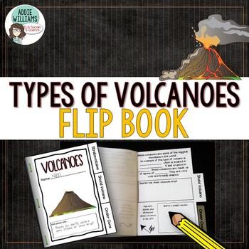 Volcano Flip Book to Learn Types of Volcanoes