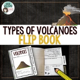 Volcano Flip Book to Learn Types of Volcanoes