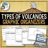 Types of Volcanoes - Graphic Organizers