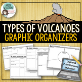 Types of Volcanoes - Graphic Organizers - Digital & Print Versions