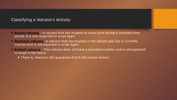 Volcano Information
