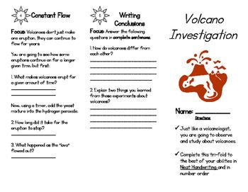 Volcano Investigation Experiment Unit