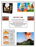 Plate Tectonics:  Volcano LAB - Modified (Make Your OWN Volcano!)