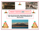 Volcano Lab: ANCIENT ITALY - Construct Vesuvius and Pompeii With PLAY DOH