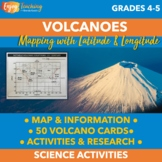 Volcano Mapping Latitude and Longitude Activity - Finding the Ring of Fire