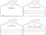 Volcano Mini Book