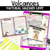 Volcano Natural Disasters Unit of Nonfiction Article Flipbook and Project