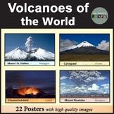 Volcano Posters