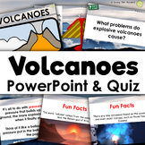 Volcano PowerPoint Introduction and Quiz