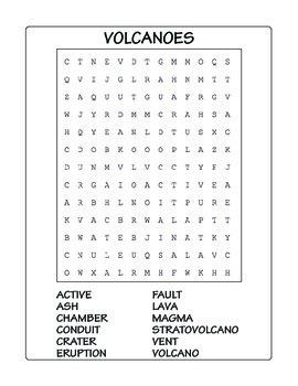 Volcano Puzzles ★ FREEBIE ★