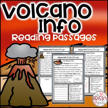 Volcano Reading Passages