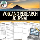 Volcano Research Journal / Volcano Project - PRINT & DIGITAL DISTANCE LEARNING