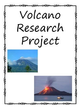 volcano research project teaching resources teachers pay teachers rh teacherspayteachers com Volcanology Schools Volcanology Degree