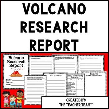 Volcanoes Research Report