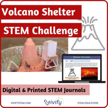 Volcano Shelter STEM Challenge