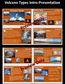 Volcano Types-Mini-Pack  W/ PowerPoint