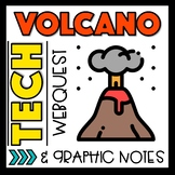 Volcano Webquest and Graphic Notes