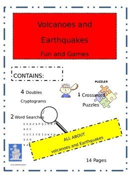 Volcano and Earthquake Fun and Games