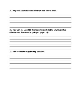 Volcano by Patricia Lauber - Imagine It - 6th Grade