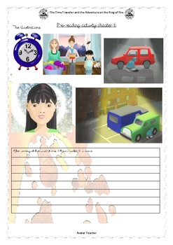 Volcano topic comprehension: The Time Traveller book 2 C6