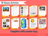 18 Volcano activities, complete with answers