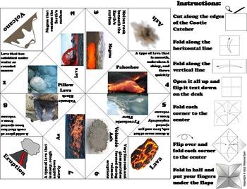 Volcanoes Activity/ Foldable (Geology Unit)