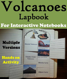 Types of Volcanoes and Lava Activity/ Foldable (Geology Unit)