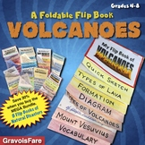 Volcanoes: A Flip Book Foldable of Natural Disasters