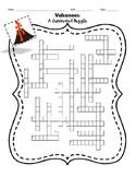 Volcanoes: A crossword Puzzle