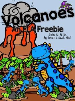 Volcanoes: An ELA Freebie for Firsties